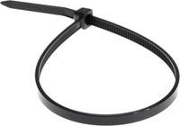 Хомут кабеля 3,6х300 (100шт) черный REXANT
