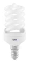 Лампа КЛ-13 6500 Е14 спираль GENERAL   (я01)
