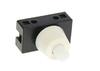 Выключатель-кнопка 2А ON-OFF белый REXANT, 5715