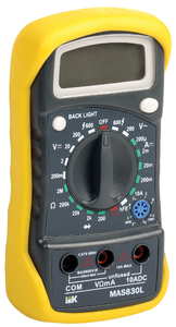 Мультиметр  MAS830L Master   ИЭК, 6073