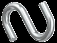 Крюк S-образный 4 мм.