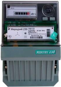 Счетчик 3ф М-230 10-100А (АМ-02), 4735