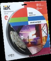 Лента светодиод. 54LED 4,8W IP65 RGB (5м)   ИЭК я01