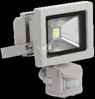 Прожектор светодиодный СДО05-10Д 10W  IP44 6500К с ДД серый   ИЭК   я01