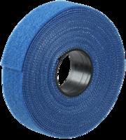 Хомут-липучка ХКл 20мм синий (5м)   ИЭК