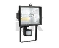 Прожектор ИО-500 Вт детек. чер. ИЭК распродажа