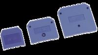 Заглушка ЗНИ-4мм (50А) синий   ИЭК