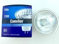 Лампа КГМ220-50 GX5.3/JCDR с/ст  Camelion