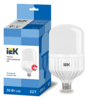 Лампа LED Е27  30W 6500   ИЭК