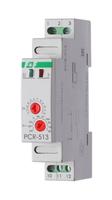 Реле времени PCR-513 220V 1P задержка вкл.  F&F