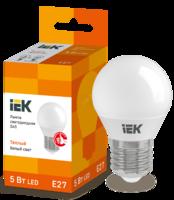 Лампа LED Е27 5W 3000 G45   ИЭК