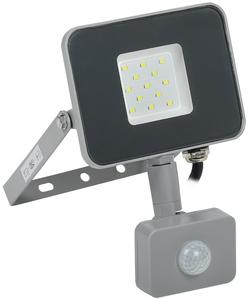 Прожектор светодиодный СДО07-10Д 10W  IP54 6500К с ДД серый   ИЭК, 5174