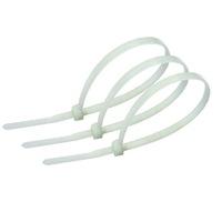 Хомут кабеля 7,6х300 (100шт) белый REXANT