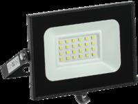 Прожектор светодиодный СДО06-20 20W IP65 6500К черный   ИЭК