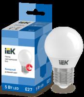 Лампа LED Е27 5W 6500 G45   ИЭК